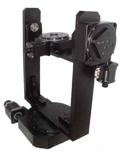 Motorized Two Axis Gimbal System Load Capacity 50 Kg